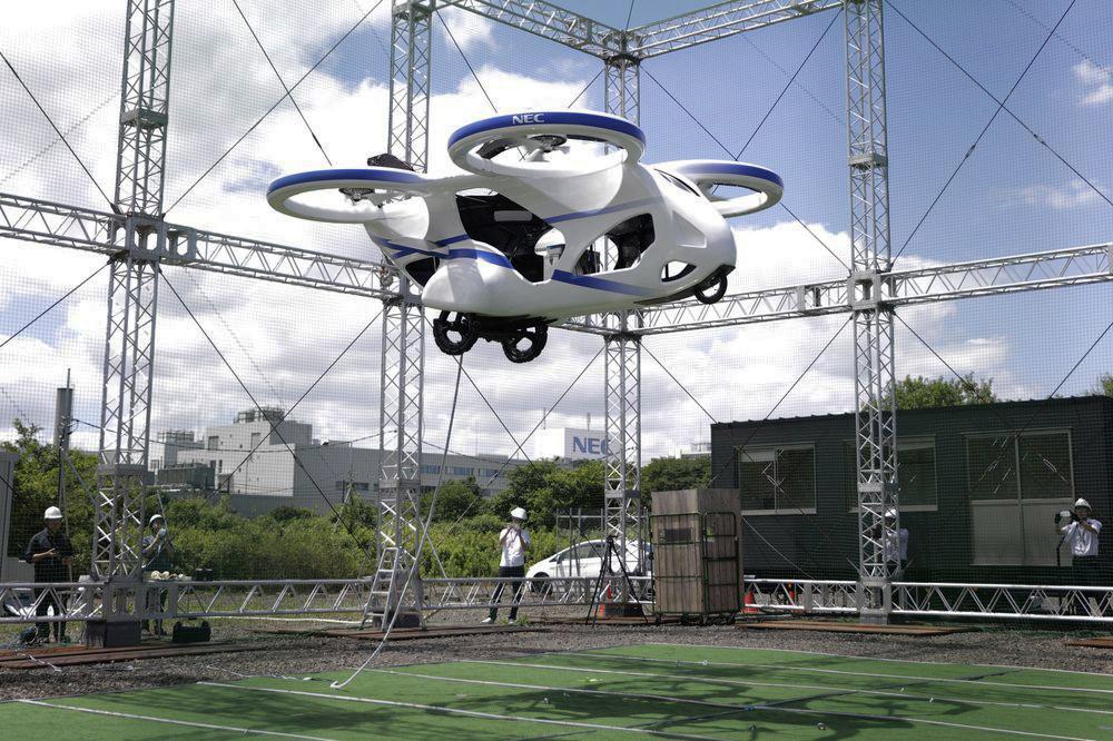 იაპონიაში მალე მფრინავი მანქანები გამოჩნდება